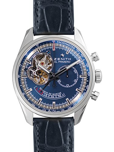 [ゼニス] ZENITH 腕時計 クロノマスターオープン シャルルベルモ 03.2085.4021/51.C700 メンズ 新品 [並行輸入品]
