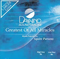 Greatest Of All Miracles [Accompaniment/Performance Track]【CD】 [並行輸入品]