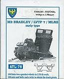 おもちゃ Friulmodel ATL78 1:35 M2 Bradley/LVTP7/MLRS Track Link [並行輸入品]
