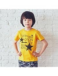 サンカンシオン(キッズ)(3can4on Kids) Tシャツ(【150cmまで】スタープリントTシャツ)