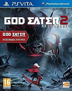 God Eater 2: Rage Burst (Includes God Eater Resurrection) (Playstation Vita) (輸入版)