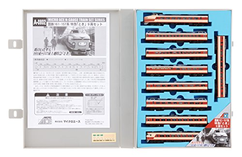 Nゲージ A0802 国鉄161・157系特急「とき」9両セット