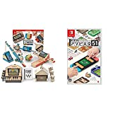 Nintendo Labo (ニンテンドー ラボ) Toy-Con 01: Variety Kit - Switch + 世界のアソビ大全51-Switch セット