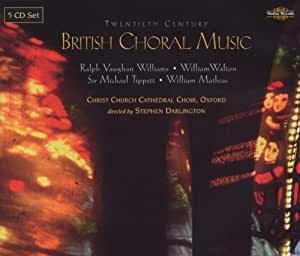 British Choral Music of 20th Ctry