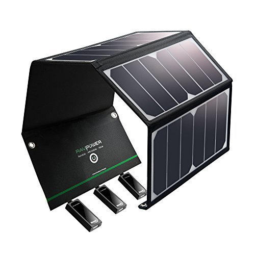 Solar Charger RAVPower 24W Sol...