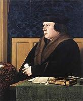 手書き-キャンバスの油絵 - 美術大学の先生直筆 - Portrait of Thomas Cromwell Hans Holbein the Younger 絵画 洋画 複製画 ウォールアートデコレーション -サイズ09