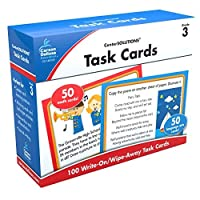 Carson-Dellosa CD-140335 CenterSOLUTIONS for The Common Core Task Card Grade 3 (Pack of 102) [並行輸入品]