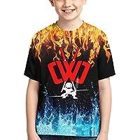 KLNHSM CWC Chad Wild Clay Shirt Boys Girl Fashion 3D Print Short Sleeve Cotton T-Shirt