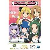 Xbox Live 3500 マイクロソフト ポイント カード ドリームクラブ限定バージョン (A) 【プリペイドカード】【メーカー生産終了】