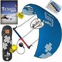 HQ hq4Rush V Pro 300KiteboardingトレーナーKite DVDバンドル: ( 5Items ) Includes : Kiteboarding DVD + WindBone Kiteboardingライフスタイルデカール+ Wbk Koozyクーラー+キーチェーン