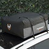 【全米が認めた完全防水ルーフバッグ】255L ルーフボックス 防水 軽自動車 Rightline Gear ルーフレール不要 大容量 キャンプやアウトドアの荷物に 簡単取付 A4サイズにたためる