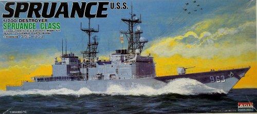 1/700 米国海軍駆逐艦 スプルーアンス
