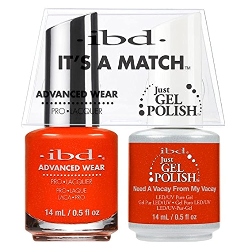 許されるパーセント反論者ibd - It's A Match -Duo Pack- Need a Vacay From My Vacay - 14 mL / 0.5 oz Each