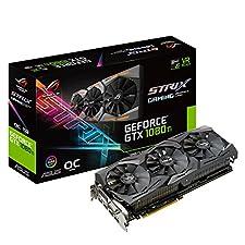 ASUS R.O.G. STRIXシリーズ NVIDIA GeForce GTX1080Ti搭載ビデオカード ベースクロック1569MHz STRIX-GTX1080TI-O11G-GAMING
