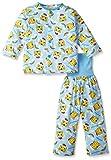 (シマジロウ)SHIMAJIRO(しまじろう) 腹巻付き長袖パジャマ 3520L7301  ブルー 90