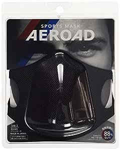 AEROAD(エアロード) スポーツマスク ブラック 3枚入り AEROAD