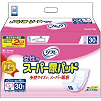 リフレ 女性用 スーパー尿パッド 30枚(テープタイプ用)