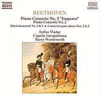 ベートーヴェン:P協奏曲2&5