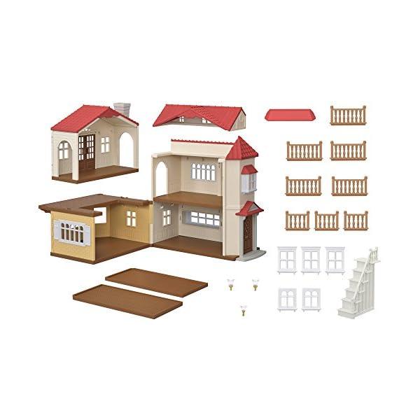 シルバニアファミリー お家 赤い屋根の大きなお...の紹介画像3