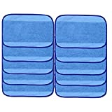 Microfiber Mop Cloths for iRobot Braava Mopping Pads Wet 380t 380 320 Mint Vacuum Cleaner 4200 4205 5200C 5200 (10 PCS)