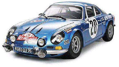 1/24 スポーツカーシリーズ アルピーヌ ルノーA110 モンテカルロ'71