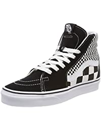 VANS バンズ MIX CHECKER ミックスチェッカー SK8HI 黒x白 ブラックxホワイト BLACK / WHITE