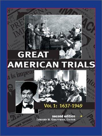 Download Great American Trials 0787649015