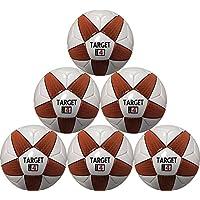 サッカーボールターゲット6ボールパックサイズ4 for Kids間8 & 12年の年齢の最適Soccerで購入
