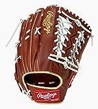 ローリングス(Rawlings) 野球用 軟式用 HYPER TECH COLOR GOLD ハイパーテック カラーゴールド[外野手用]12.5インチ GRXFHTCB88 ブラウン 右投用