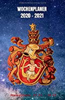 Wochenplaner 2020 - 2021: Januar 2020 bis Dezember 2021   Wochen- und Monatsplaner   1 Woche pro Seite   Din A5 Format (15x21 cm) - Horoskop - Tierkreiszeichen Wassermann