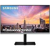 """Samsung R650FDE 23.8"""" 75Hz Full HD Narrow Bezel Ergonomic IPS Monitor, Dark Blue Gray (LS24R650FDEXXY)"""