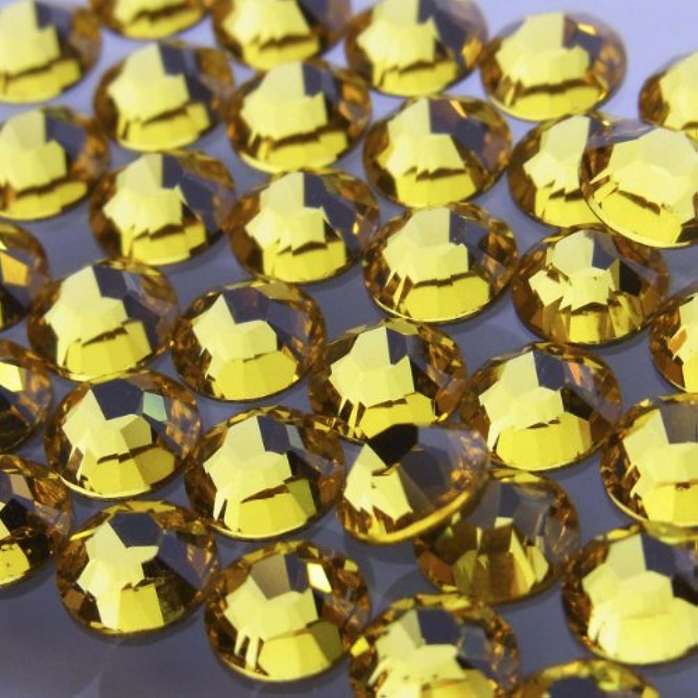 粒子切手の慈悲でHotfixライトトパーズss10(100粒入り)スワロフスキーラインストーンホットフィックス