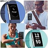 【日本正規代理店品】Fitbit 心拍計+フィットネスリストバンド Charge2