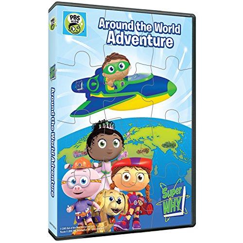 Super Why: Around the World Adventure & Puzzle [DVD] [Import]