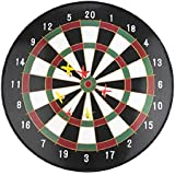 "17"" Magnetic Dartboard Dart Board with 6 Darts Large Adult Kids Safety Dartboard"