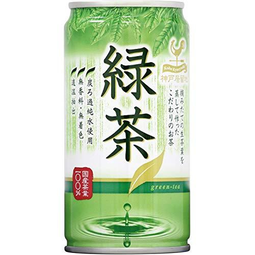 神戸居留地 富永食品 緑茶 185g×30本