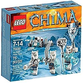 """レゴ (LEGO) チーマ トライブパック""""シロクマ族"""" 70230"""