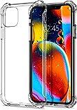【Spigen】 iPhone 11 Pro ケース 5.8インチ 対応 TPU 全面クリア 耐衝撃 米軍MIL規格取得 傷防止 レンズ保護 軽量 Qi充電 ワイヤレス充電 ラギッド・ クリスタル ACS00060 (クリスタル・クリア)