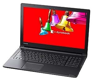 東芝 dynabook AZ15/BB 東芝Webオリジナルモデル (Windows 10 Anniversary/Officeなし/15.6型/Celeron3215U/ブラック) PAZ15BB-SNA
