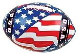 "Rhode Island Novelty 5.5"" Soft Stuff US Flag Football Toyアクティビティと再生ボール"