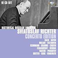 Sviatoslav Richter Concerto Edition (Historical Russian Archives)