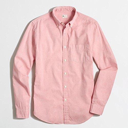 (ジェイクルー)J.Crew 長袖シャツ Sunwashed Oxford Shirt アンバーオックスフォード Amber Oxford [並行輸入品]