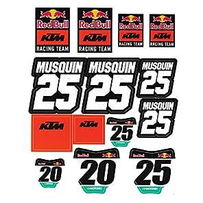 (レッドブル) レッドブル KTM レーシングチーム 【STICKER SHEET SET】 RED BULL KTM RACING TEAM [並行輸入品]