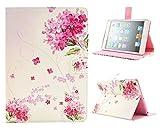 「Fablight」 ipad air 2 / ipad air2  ケース アイパッド エアー2 カバー レザー ソフト ブック型 手帳 薄型 軽量 スタンド機能付 横開きタイプ フリップ マグネット式 花柄 かわいい おしゃれ エレガント