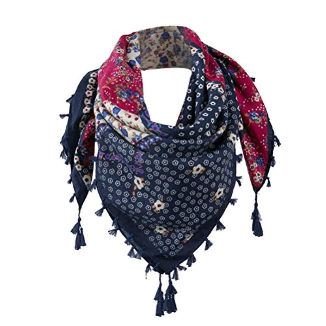 未知のスープファイルDourabbi ファッション レディース 女性 花 タッセルショール スカーフ