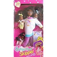 Barbie Babysitter Skipper Doll AA w 3 Babies (1994) by Barbie