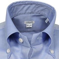 Pin Oxford Buttondown Shirt: Light Blue