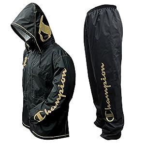 チャンピオン 上下スーツ ゴールド L 透湿 1.5層レイヤー 止水テープ 155676
