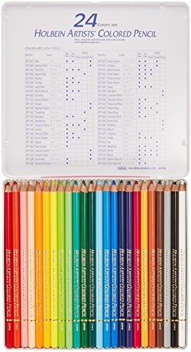 ホルベイン アーチスト色鉛筆 24色セット