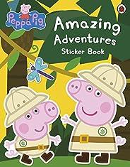 Peppa Pig: Amazing Adventures Sticker Book